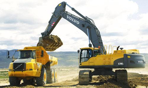 Excavadoras de cadenas