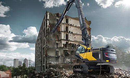 Equipos demolición